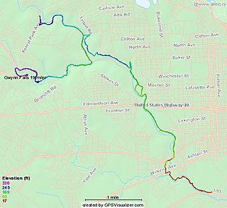 Gwynns Falls 19 miler